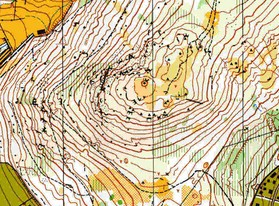 Trozo del mapa de Cercedilla (1996).