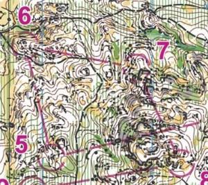 Pinho, mapa de lalarga